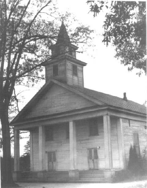 Fredonia Methodist Church Constituted 1833 ALGEnweb Chambers county.