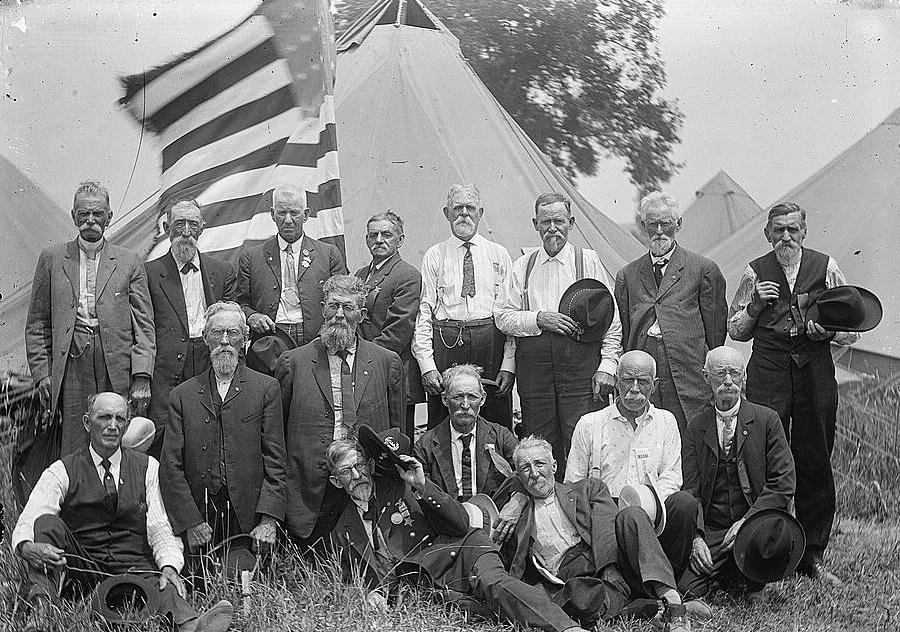 GAR veterans 1913 reunion