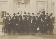 Photographs of Greensboro Confederate veterans & generals