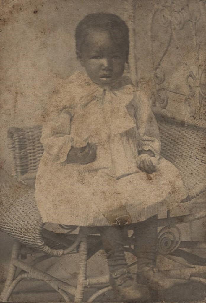 Louisa Thomas of Uniontown, Alabama ca. 1900 photographer Russell Brothers, Ensley, Alabama Q49370