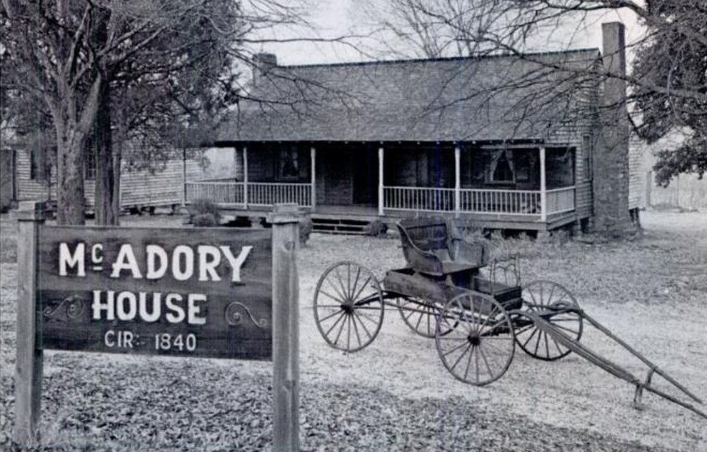 McAdory house with buggy