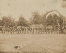In early Alabama, every free white male – 16 to 50 was subject to serve in the military
