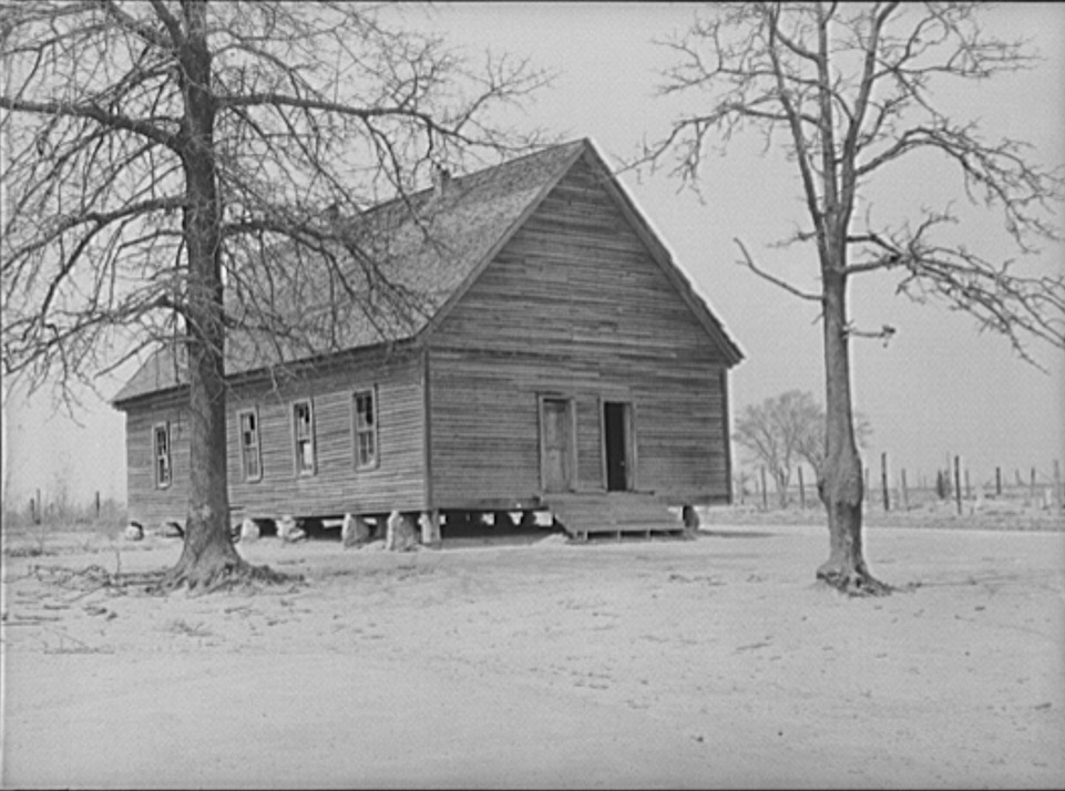 One of old schools which was consolidated into Goodman School. Coffee County, Alabama