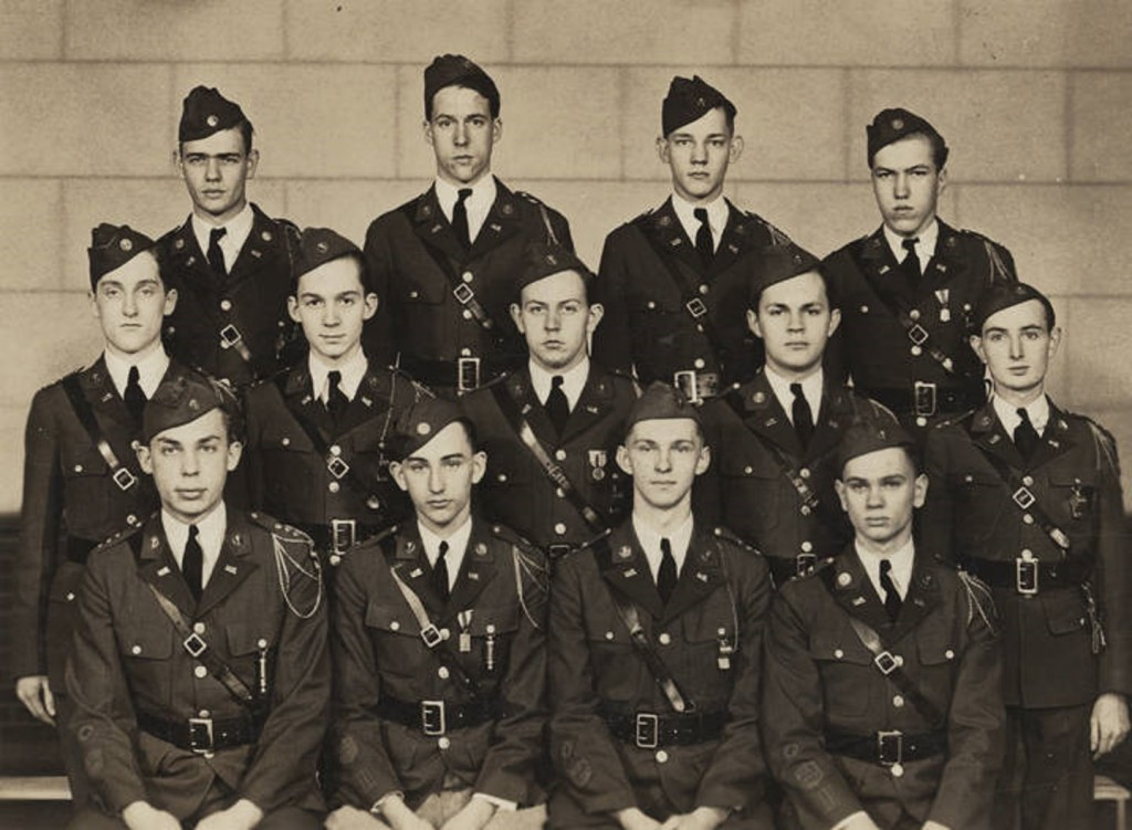 ROTC members at the high school in Opelika, Alabama 1943 Q46824