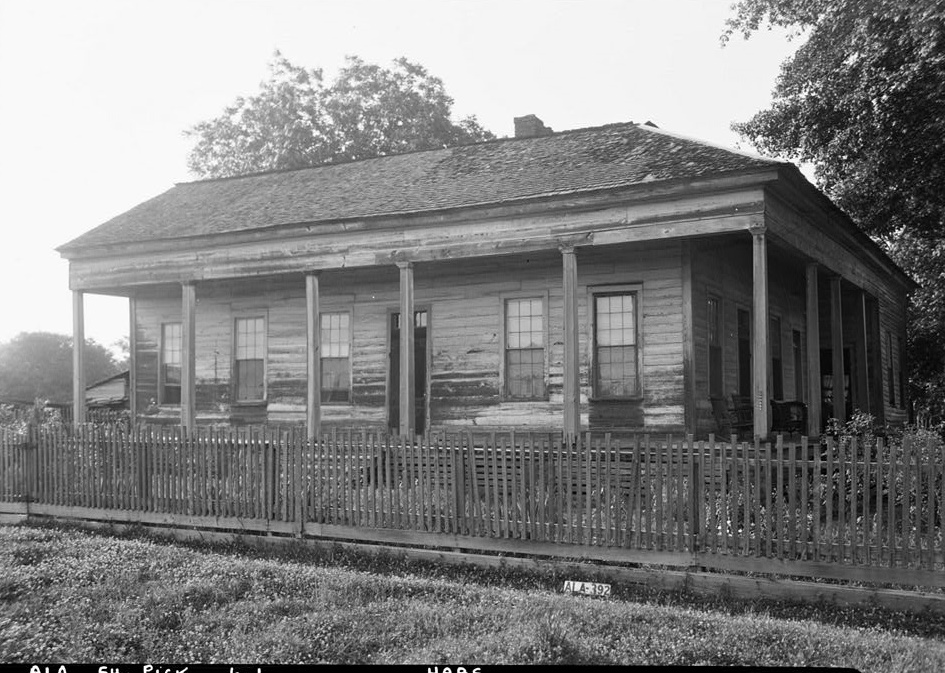 Saunders House Alex Bush, Photographer, April 14, 1937 SOUTH ELEVATION - Henry Williams Saunders House, Bonner Mill Road & Ferguson Street, Pickensville, Pickens County, AL