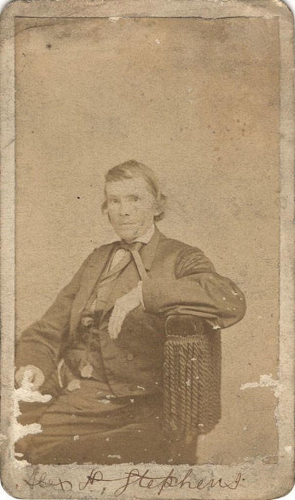 Stephens, Alexander Hamilton Stephens - Vice President of the Confederacy Q9448