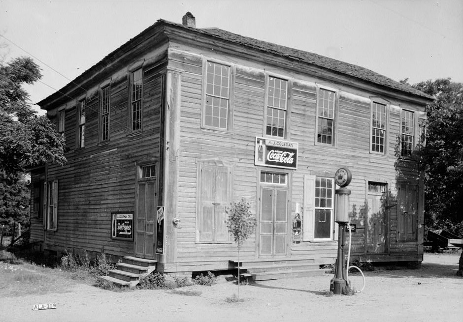 Store in Pickensville (Library of Congress)