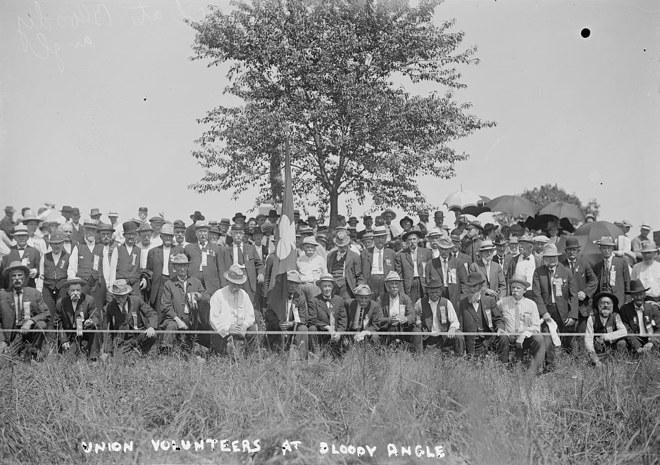 Union Volunteers at Bloody Angle