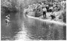 Are creeks still used for baptism today?