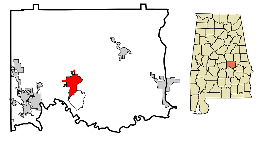 Wetumpka map