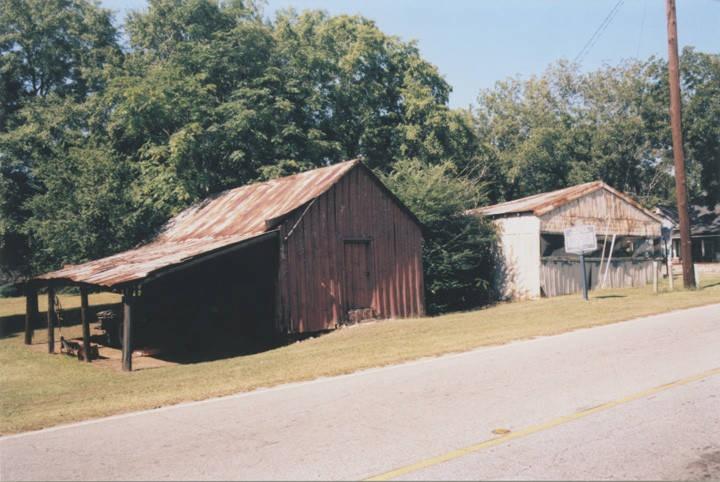 historic marker for Fort Cusseta