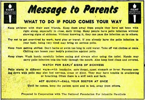 polio-sign