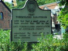 The first Tuberculosis Sanitarium in Birmingham area was located where English Village in Mountain Brook exists today