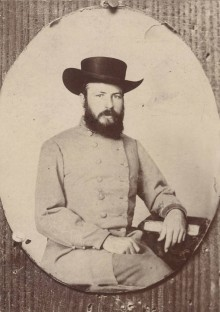 Five Confederate captains photographs with links to the source