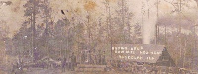 PATRON + The Johnsons and Browns arrived in Bibb County together in 1817