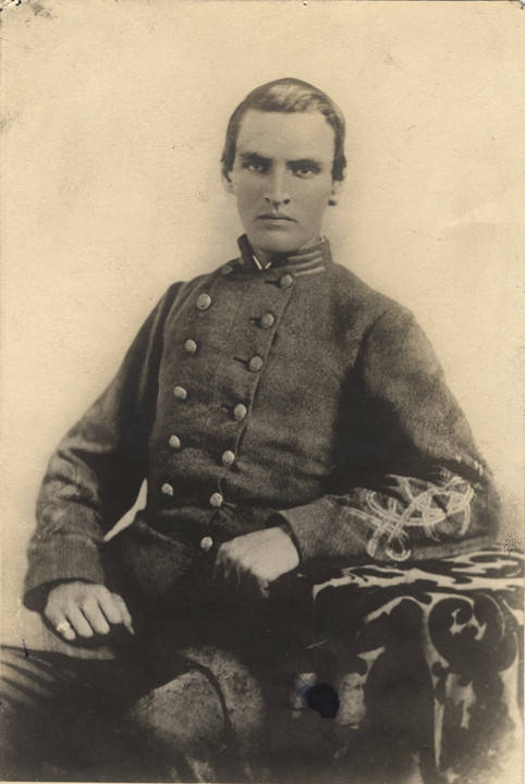 Kidd, Captain Reuben Vaughan Kidd, Company A, 4th Alabama Infantry, C.S.A. - Kidd was killed at Chickamauga Q4639