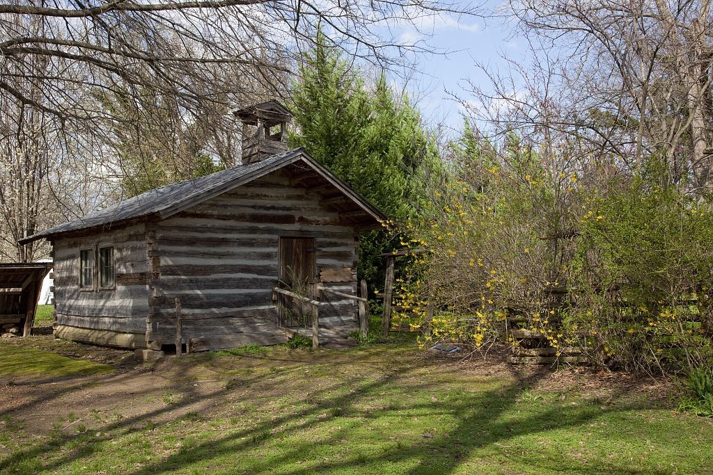 Sage Town buildings from the 1800s in a beautiful park setting4, Scottsboro, Alabama by photographer Carol Highsmith 2010