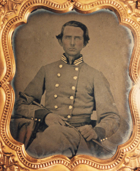 Slaughter Captain John Nicholson Company B, 34th Alabama Infantry, C.S.A., Slaughter was lr_Company_B_34th_Alabama_Infantry_CSA