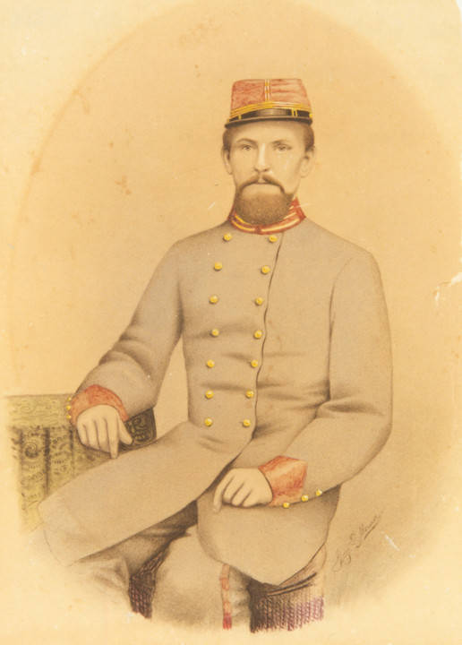 Ward, Captain John James Ward, Ward's Battery, C.S.A Q4316 _Wards_Battery_CSA