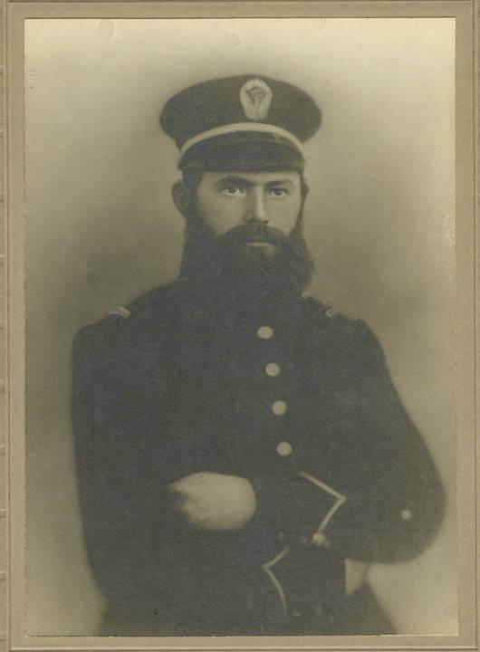 Wise, Captain John Wise Clark, Eufaula Light Artillery, C.S.A. Photographer Vansickel, Gainesville, Florida Q4221