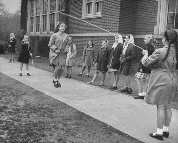 jumping rope 1950