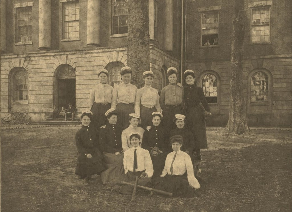 Alabama Central Female College - baseball 1905 from Martha