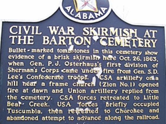 Barton marker con