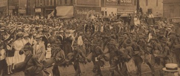 Alabama sent many volunteer soldiers in search of Pancho Villa after he attacked a town in New Mexico in 1916 [photographs]