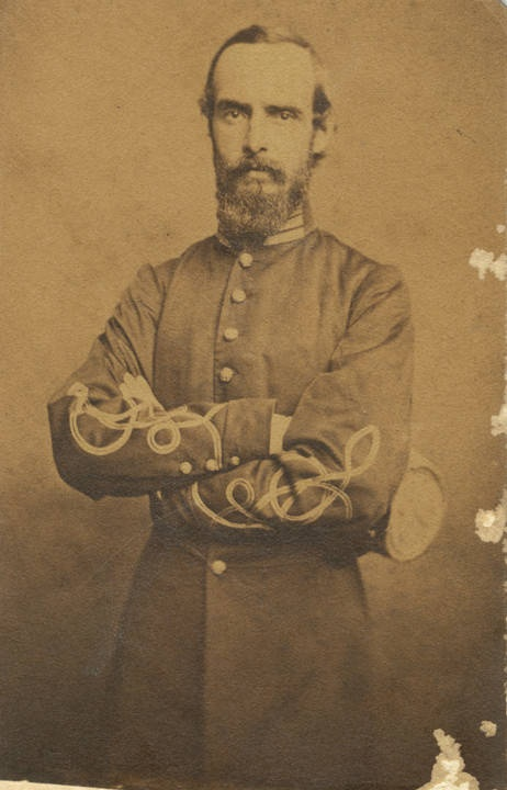 Captain Robert M. Sands, Mobile Cadets. The Mobile Cadets became part of Co. A, 3rd Alabama Infantry, C. S. A. during the Civil War. Sans was later promoted to Lieutenant Colonel. 1862 Q346