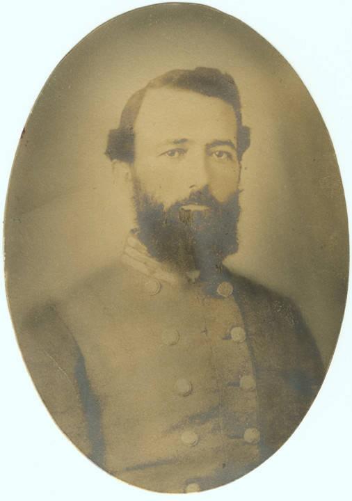 Captain Samuel Jennings Murphy, Company F, 3rd Alabama Cavalry, C.S.A Q4264