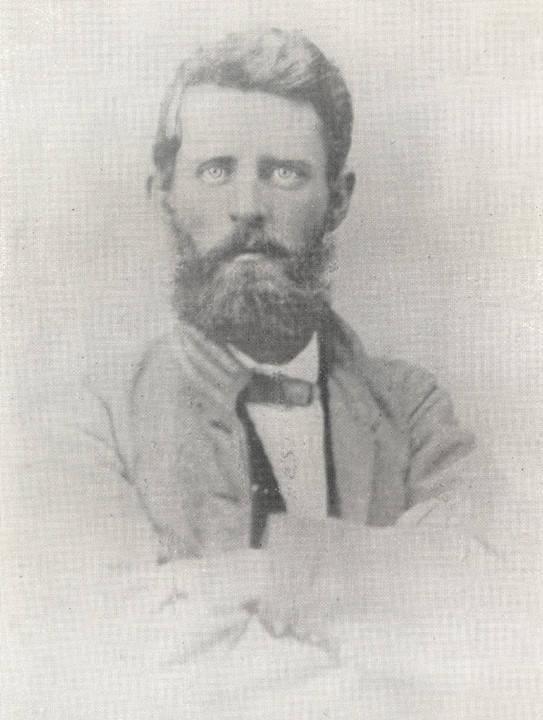 Captain Thomas Ragland, Company H, 17th Alabama Infantry, C.S.A. Ragland was killed at Ezra Church, Georgia Q4994