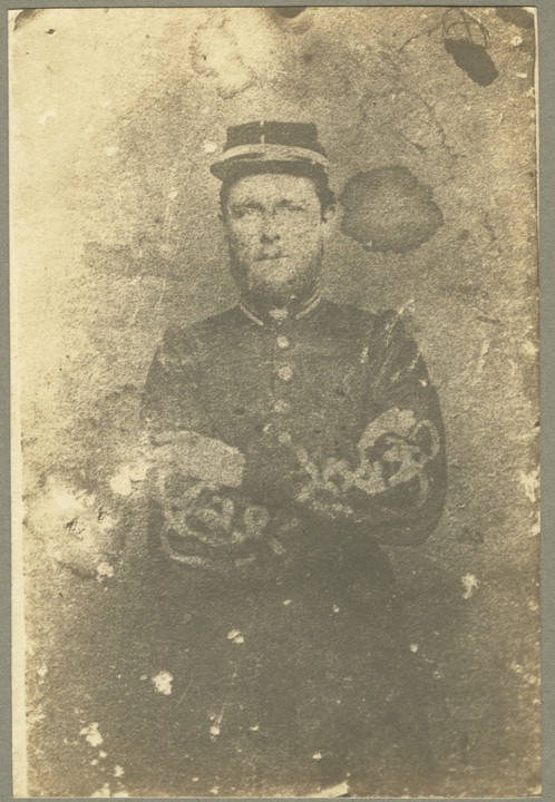 Captain Watkins Phelan, C.S.A. Phelan served as a captain in Company F of the 3rd Alabama Infantry, C. S. A.Q4273