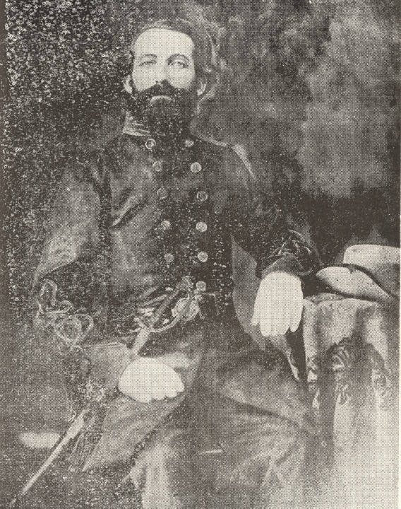 Captain William Armstrong Middleton, Company G, 1st Battalion Hilliard's Legion 23rd Alabama Battalion Sharpshooters, C.S.A. 1861 Q5086
