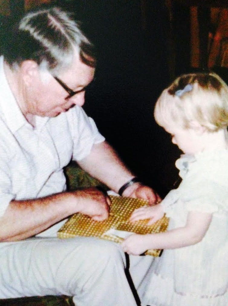 Curtis with Stephanie Bijolle granddaughter