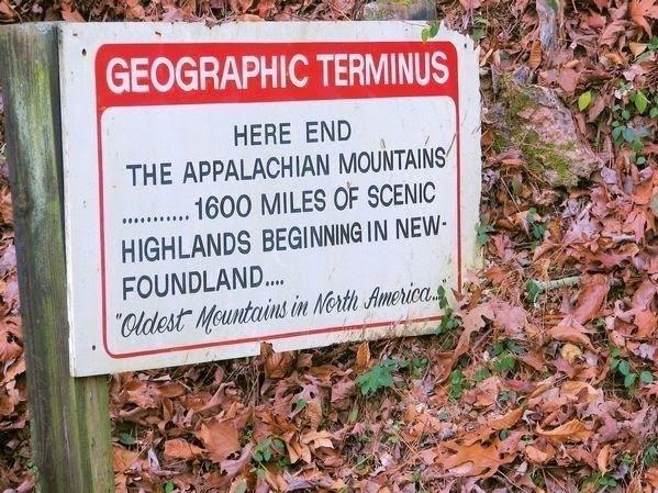 Geographic terminus