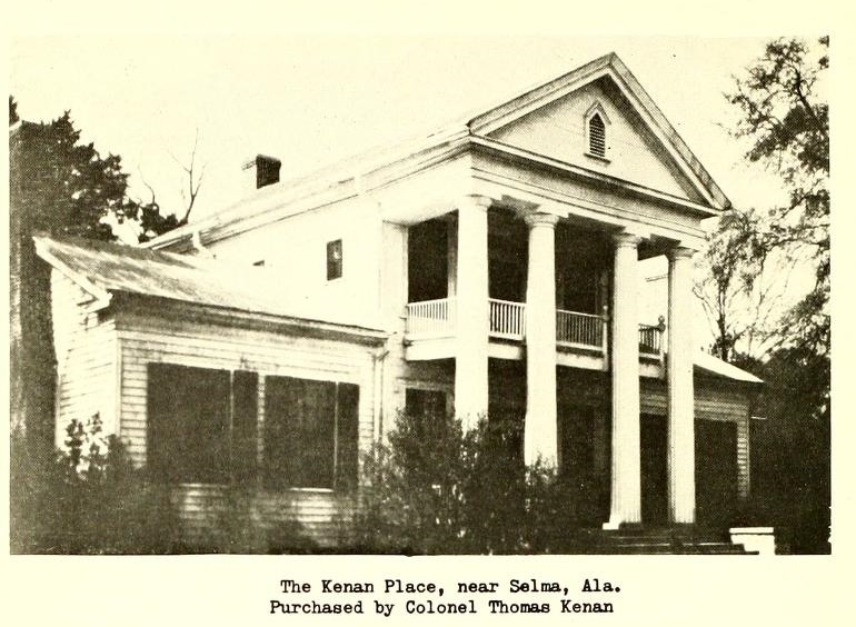 Kenan plantation near Selma, Alabama