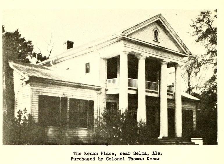 Kenan plantation near Selma, Alabama