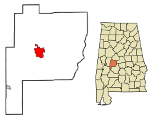 Marion, Perry county map