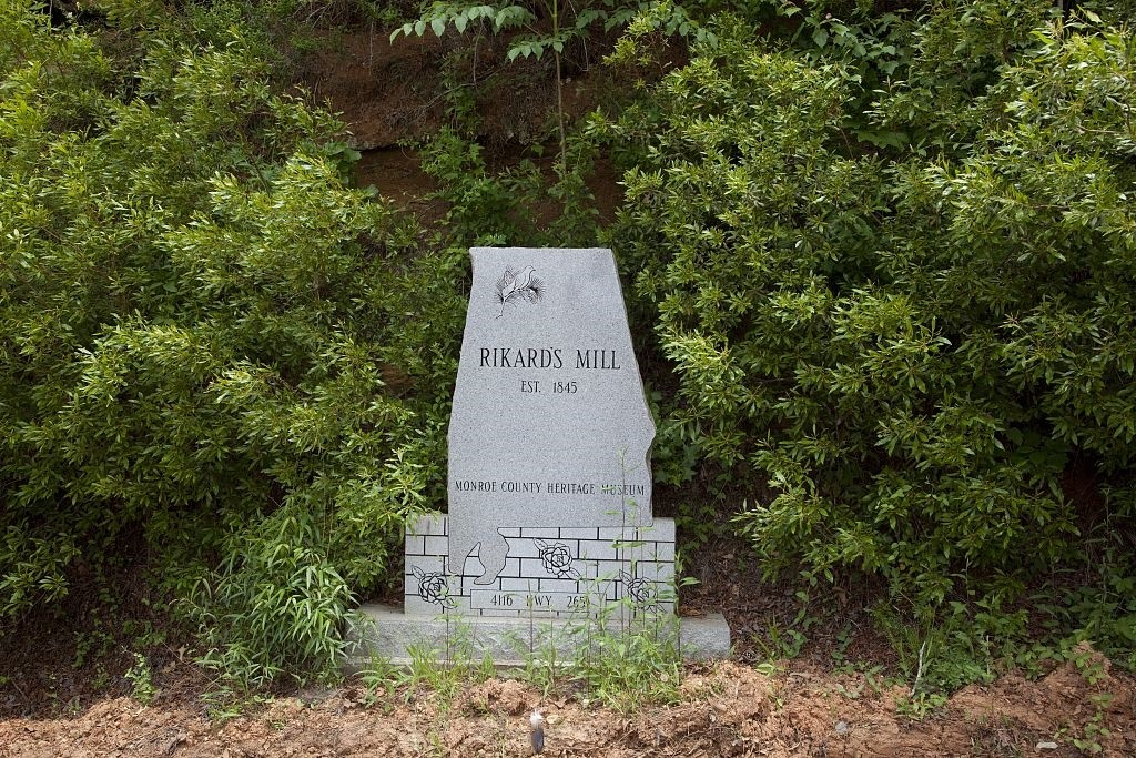 Rikard's mill, Monroe County, Alabama (2010 photograph by Carolyn Highsmith)