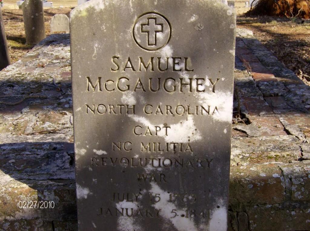 Samuel McGaughey tombstone