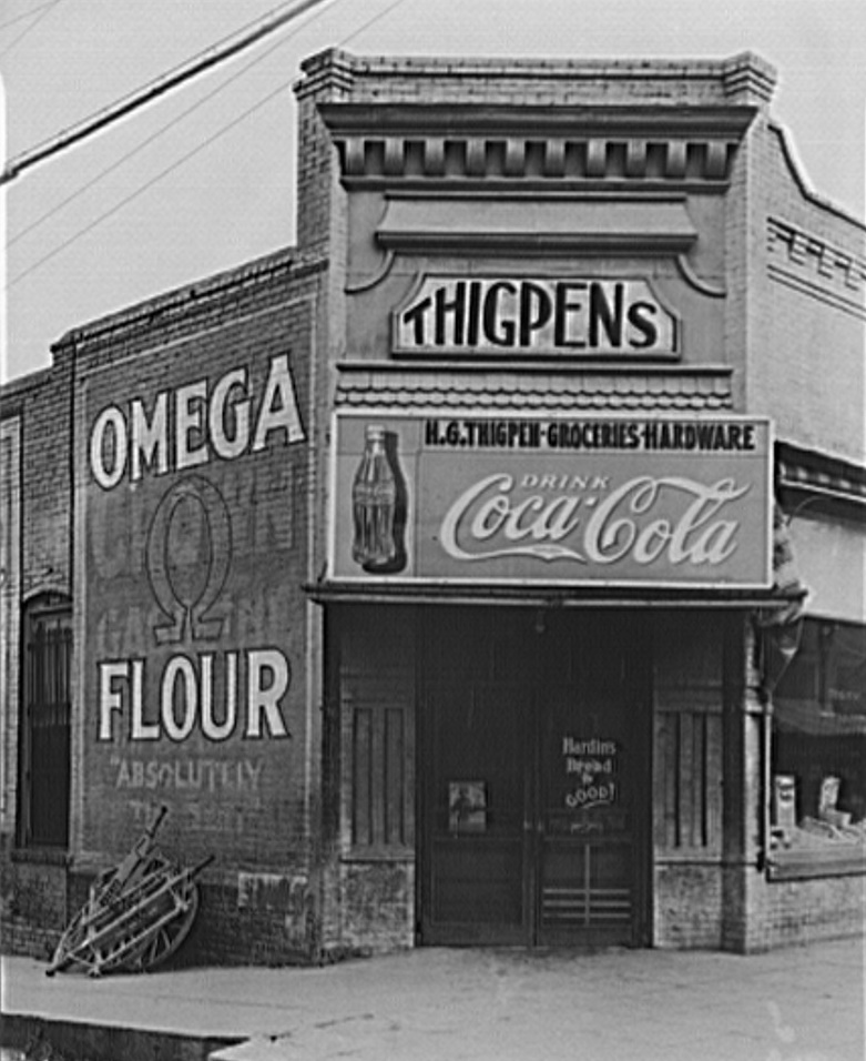 Store in Marion, Alabama ca. 1946 by Walker Evans (Library of Congress)