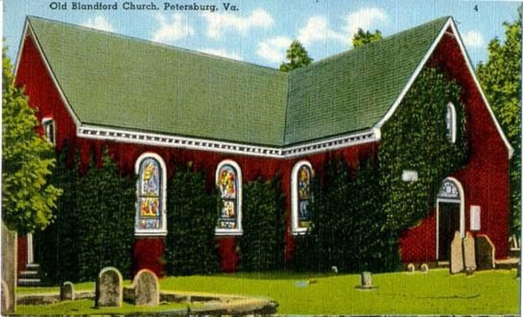 The Tale of Two Samuels - petersburg church