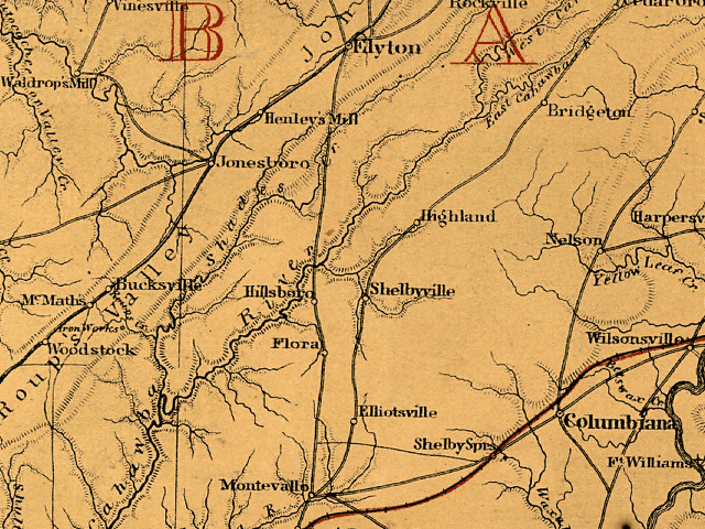 mccalla map