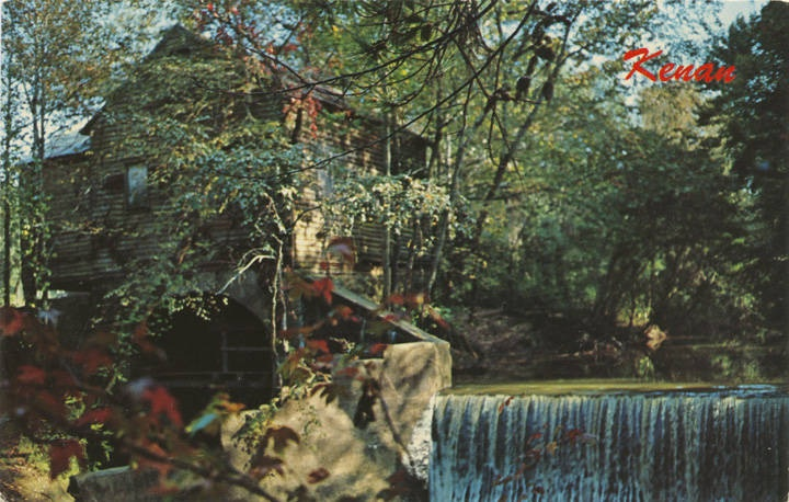 post card of Kenan's Mill (ADAH) Q69467