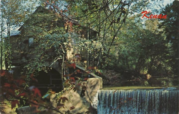 post card of Kenan's Mill (ADAH) Q69467
