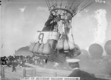 PATRON + Birmingham was the host for the International Balloon Race in 1920