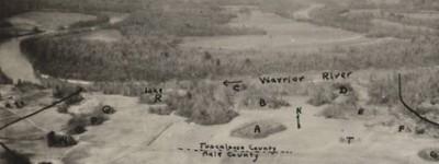 PATRON + Dr. Palmer's Notes  (1883-1884) about Alabama – Blountsville, Walker County, Mounds