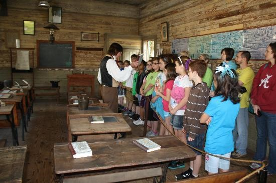 School in Old Alabama town tripadvisor