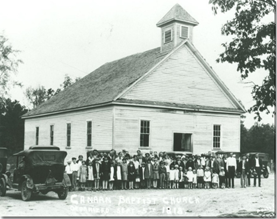 Canaan Baptist Church (Samford University Library -Special Collection & University Archives)