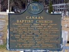A slave joins Rock Creek Baptist Church in Jefferson County and later becomes a pastor